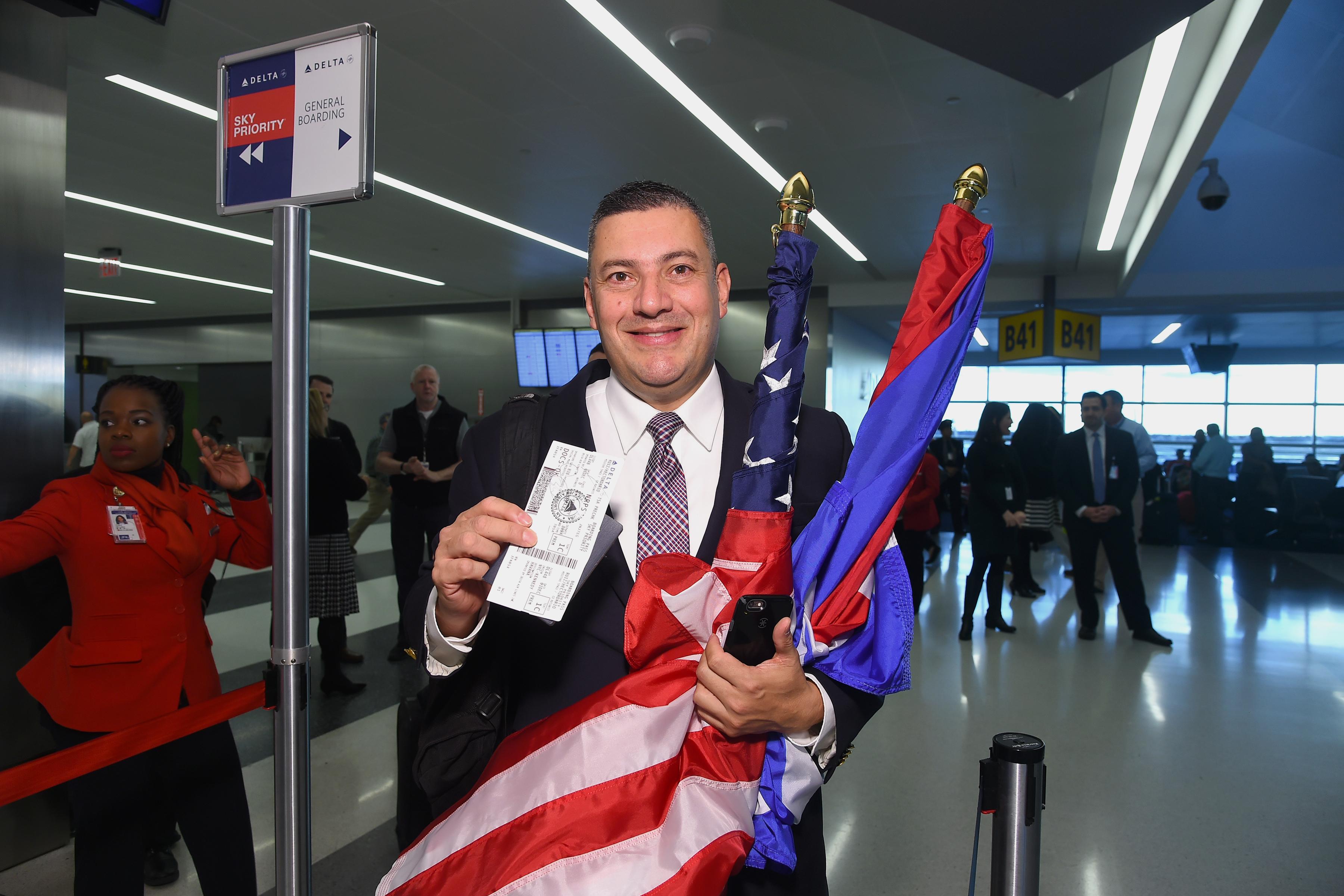 Customer flying to Cuba from New York-JFK