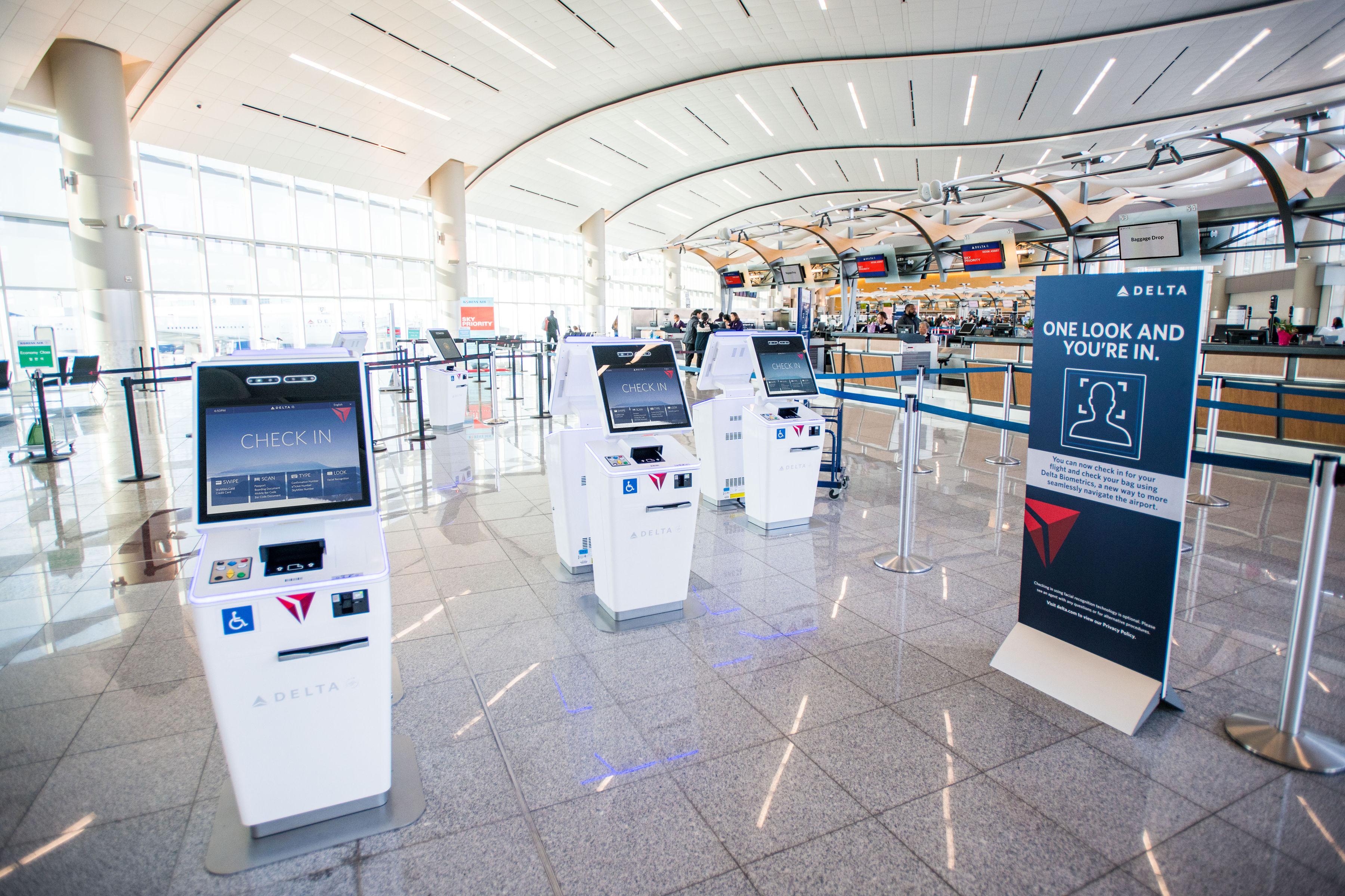 Atlanta Airport Terminal Map, Atlanta Airport Terminal F Self Service Kiosks With, Atlanta Airport Terminal Map