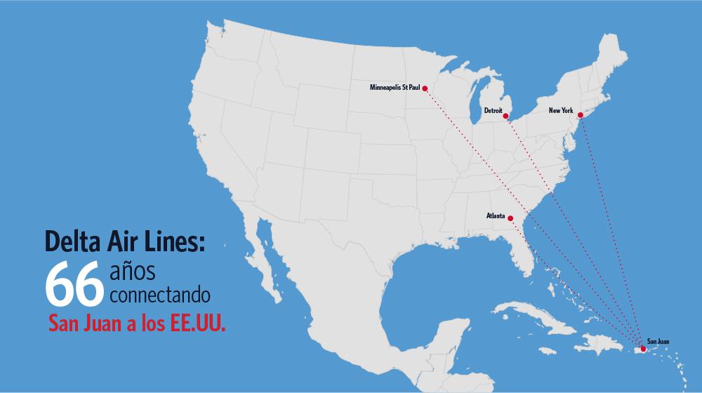 SJU-US routes