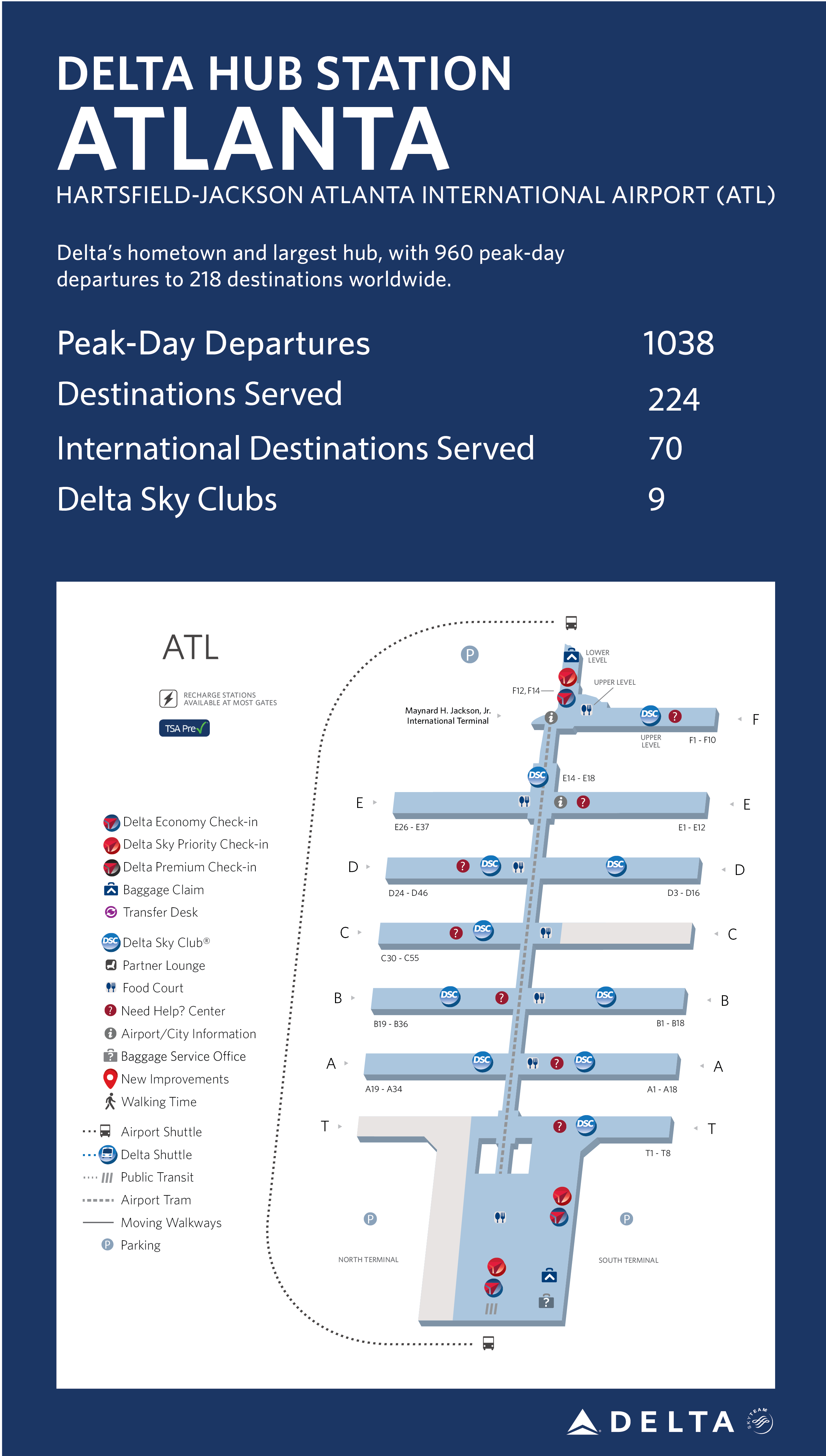 Atlanta Hub Station Fact Sheet