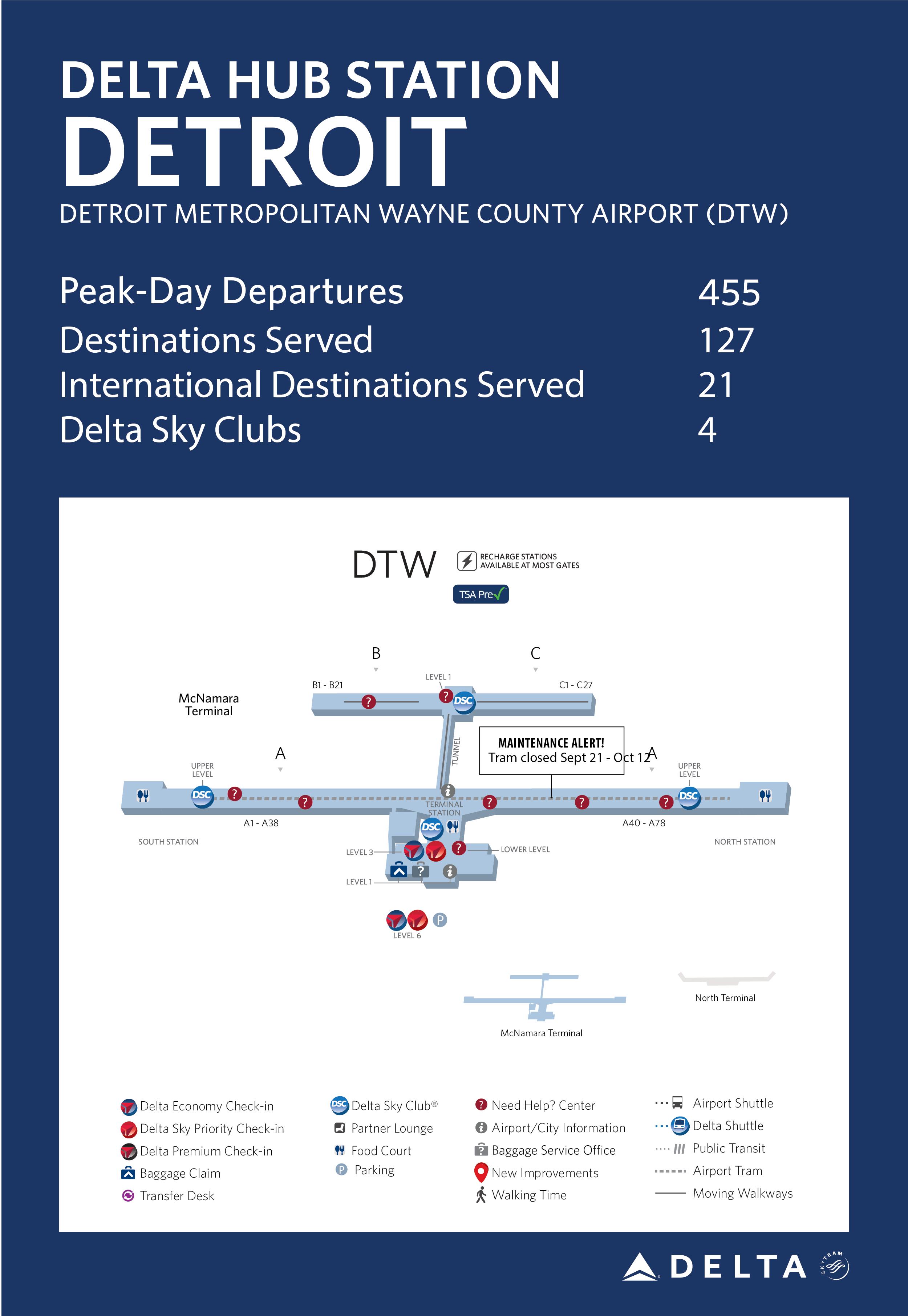 Detroit Hub Station Fact Sheet