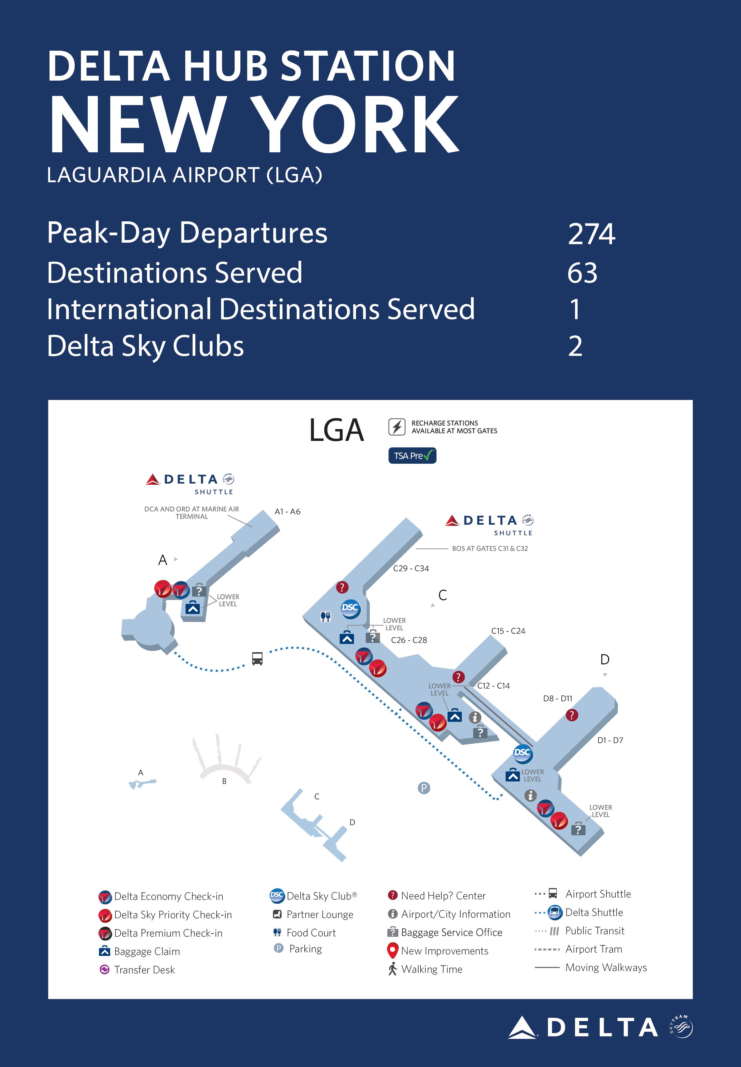 New York (LGA) Hub Station Fact Sheet