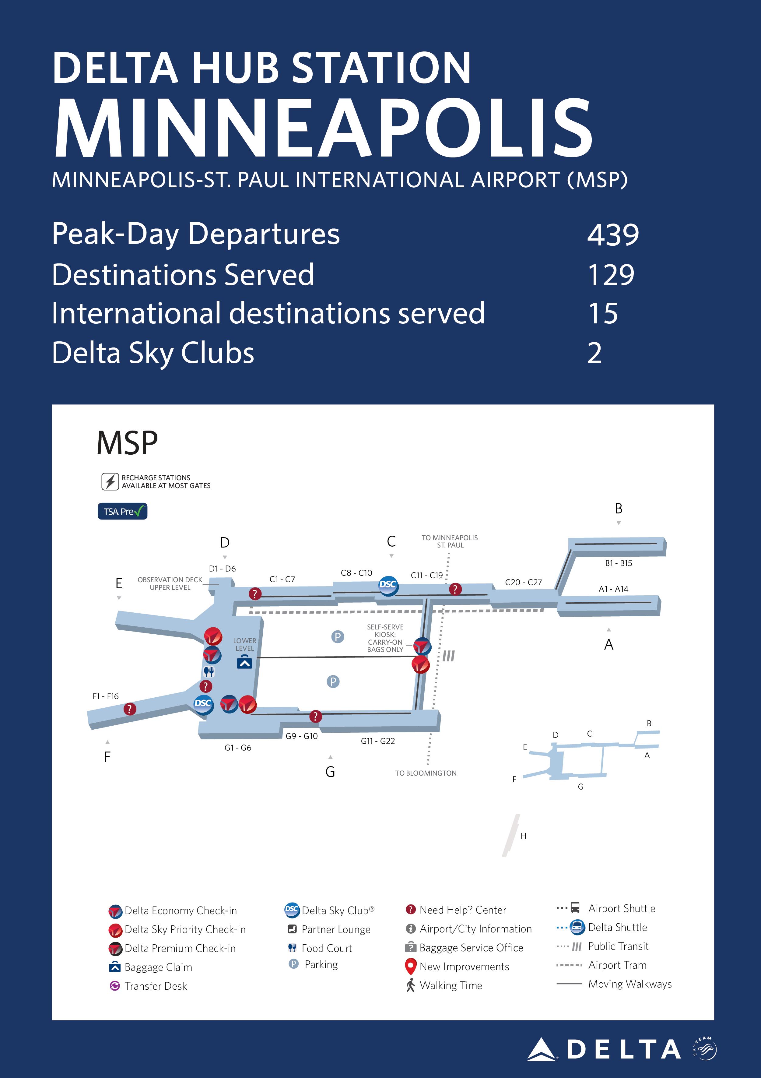 Minneapolis/St. Paul Hub Station Fact Sheet