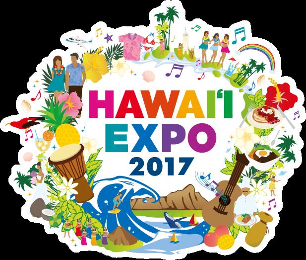 Hawaii Expo 2017 logo