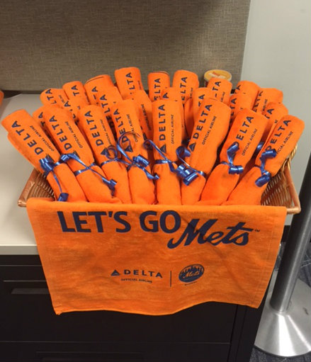 Let's go Mets Towels