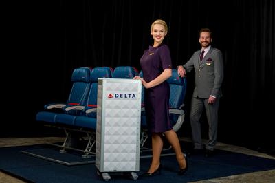 Delta Runway Reveal In-Flight Service vignette