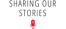 Sharing your Stories Graphic