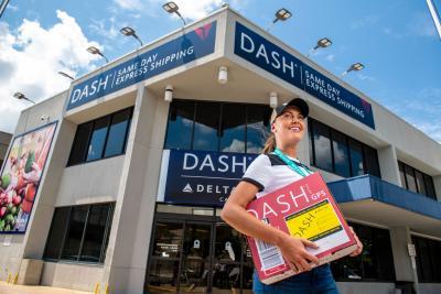 Delta Cargo DASH advertisement