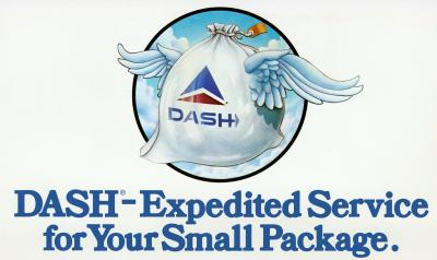1979 Delta Air Lines Special Handling advertisement with winged bag