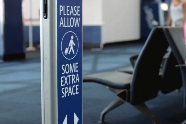 Extra space signage