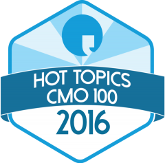 Hot Topics' 100 Most Innovative CMOs
