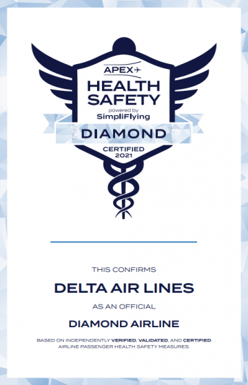 Health and Safety Diamond Certification