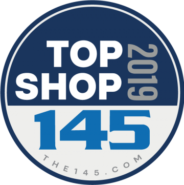 Top Shop 2019 award logo