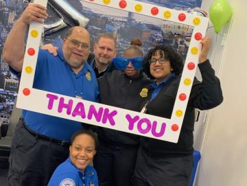 TSA employees say thanks
