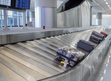 Luggage Carousel at Airport