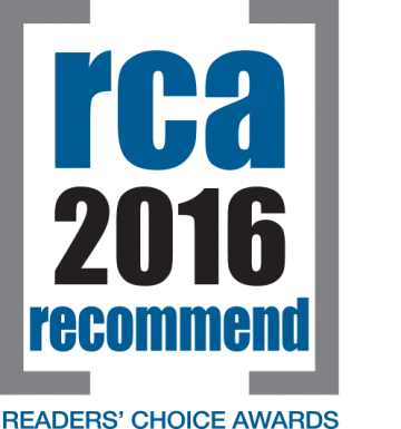recommend readers choice award logo