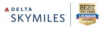 SkyMiles US News Award Logo Lockup