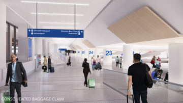 Delta, Los Angeles International Airport accelerate terminal transformation by 18 months