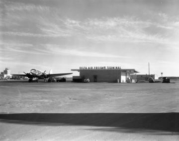 Delta Air Freight Terminal, 1959