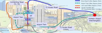 Traffic-Information-of-Incheon-Airport-Terminal-1&2