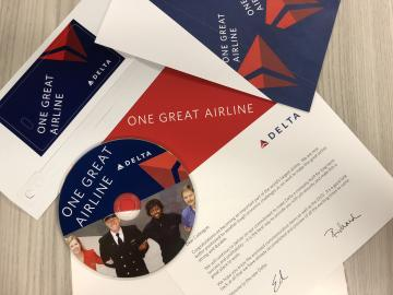 One Great Airline employee packet from 2008