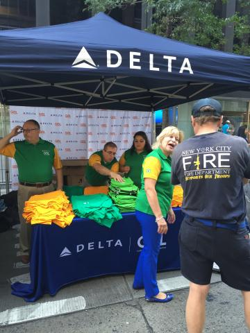 The Delta Brazil Day 2016 booth