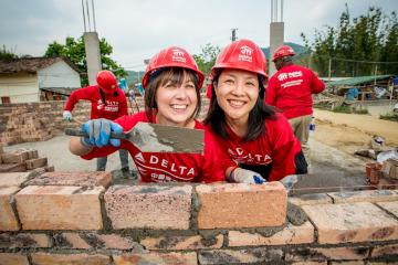 Delta Habitat build in China