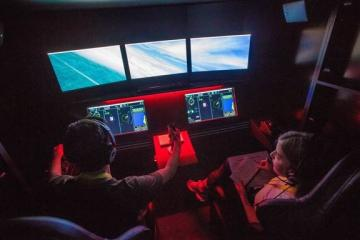 Students get hands-on experience at National Flight Academy