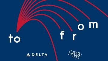 Delta To & From Podcast Logo