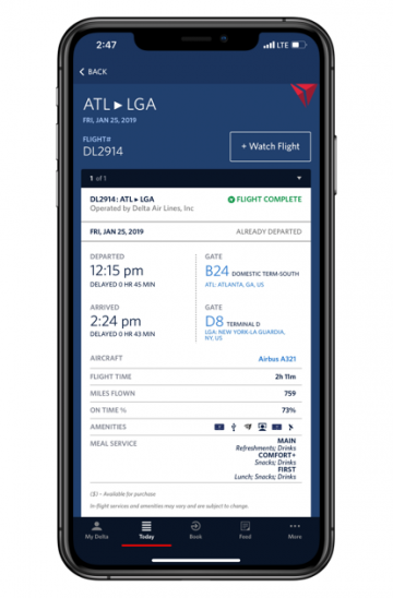 Fly Delta App Miles as Currency update