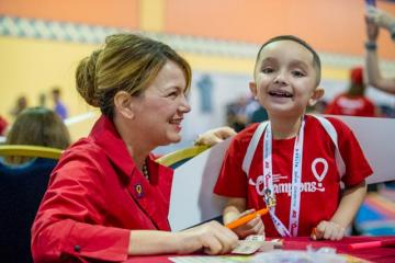 Delta welcomes Children's Miracle Network Champions