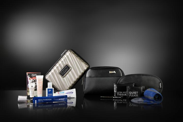 Delta One Hard and Soft Case TUMI kits
