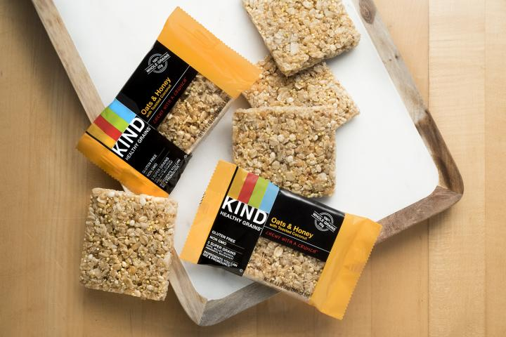 Delta keeps it fresh, adding KIND Bars, three gluten-free options to Main Cabin snacks