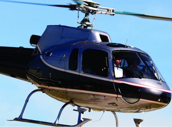 Global Aviation helicopter 1
