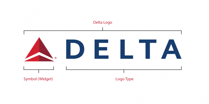 Delta logo specifications