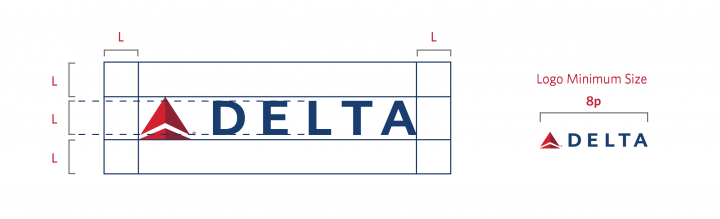 Delta Logo_Minimum Space