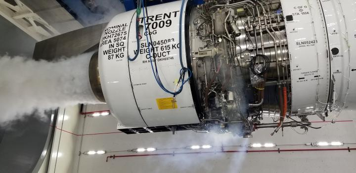 Rolls-Royce engines – the Trent 1000, Trent 7000, Trent XWB and BR715