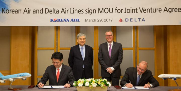 Delta, Korean expand partnership