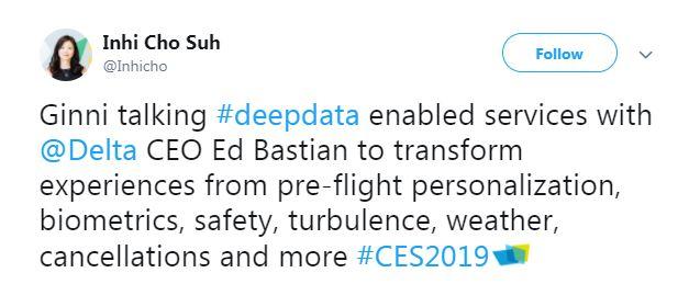 CES tweet