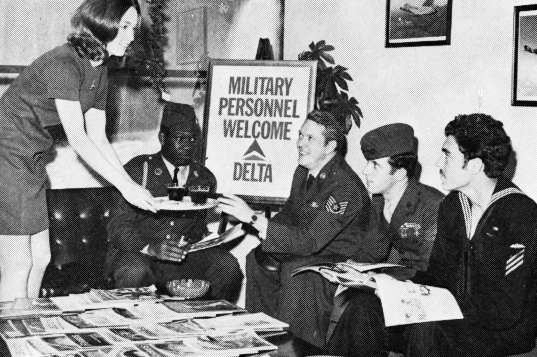 Vietnam War People sitting around tabel